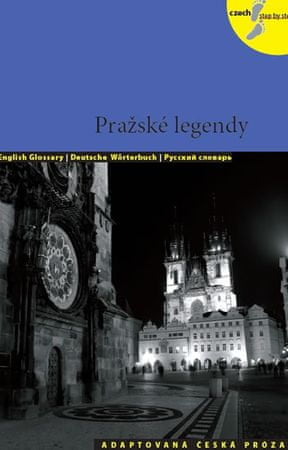 Holá Lída: Pražské legendy + CD (AJ,NJ,RJ)