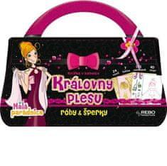 Královny plesu - Róby & šperky (Knížka v kabelce)