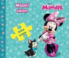 Disney Walt: Minnie Módní salon - Kniha puzzle