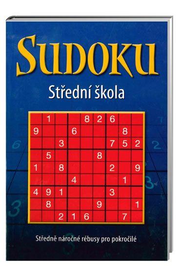 Sudoku - Střední škola (modrá)