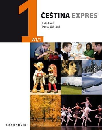 Holá Lída, Bořilová Pavla: Čeština expres 1 (A1/1) polská + CD