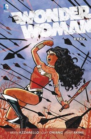 Azzarello Brian: Wonder Woman 1 - Krev