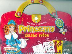 Princezny celého světa - Knížka v kabelce