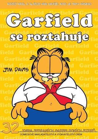 Davis Jim: Garfield se roztahuje (č.32)