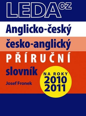 Fronek Josef: Anglicko-český a česko-anglický příruční slovník