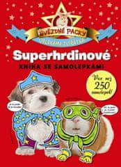 Hvězdné packy - Superhrdinové - Kniha se samolepkami