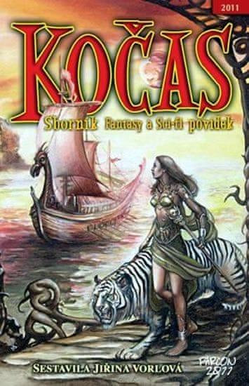 Vorlová Jiřina: Kočas 2011 Sborník sci-fi a fantasy povídek 2011