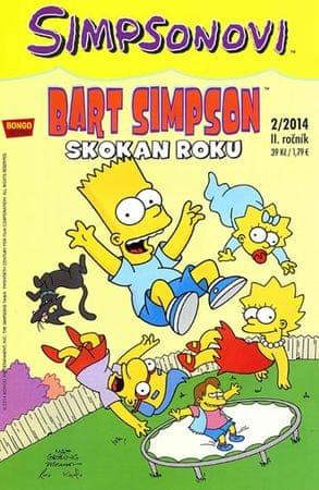 Groening Matt: Simpsonovi - Bart Simpson 2/14 - Skokan roku