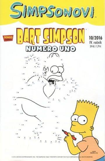Groening Matt: Simpsonovi - Bart Simpson 10/2016 - Numero uno