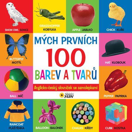 Mých prvních 100 barev a tvarů A-Č slovnik