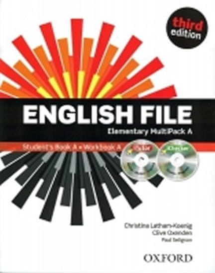Oxenden Clive, Latham-Koenig Christina,: English File Third Edition Elementary Multipack A