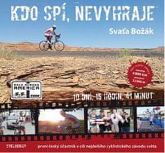Božák Svaťa: Kdo spí, nevyhraje - První český účastník v cíli nejdelšího cyklistického závodu světa