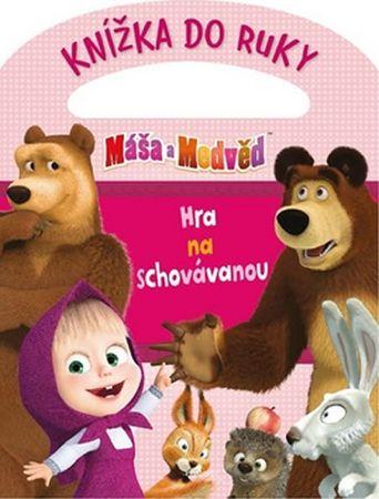 Animaccord: Máša a medvěd - Knížka do ruky - Hra na schovávanou