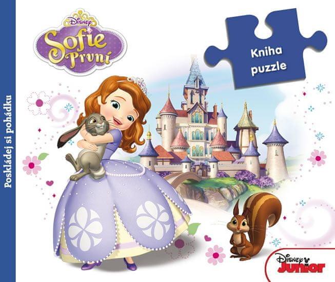 Disney Walt: Sofie První - Kniha puzzle