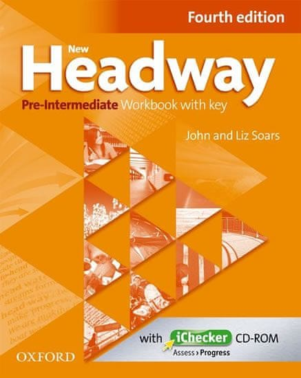 Soars John and Liz: New Headway Fourth Edition Pre-Intermediate Workbook with Key + iChecker CD