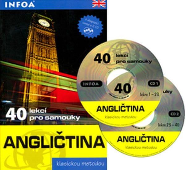 Marcheteau M., Autret J., Berman J., Sav: Angličtina - 40 lekcí pro samouky + 2 CD