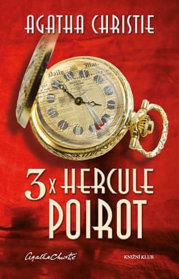 Christie Agatha: 3x Hercule Poirot