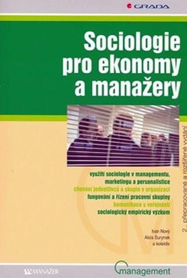 Nový,Surynek: Sociologie pro ekonomy a manažery, 2.vydání
