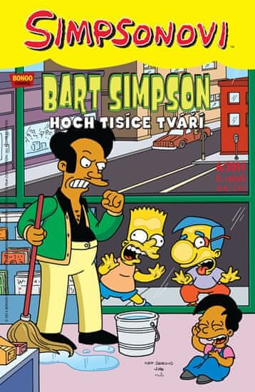 Groening Matt: Simpsonovi - Bart Simpson 6/2014 - Hoch tisíce tváří