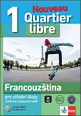 Quartier libre Nouveau 1 – učebnice s pracovním sešitem + 2CD