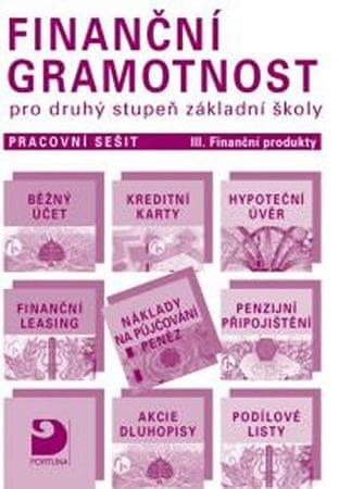 Jakeš Petr: Finanční gramotnost pro druhý stupeň  ZŠ Pracovní sešit III. Finanční produkty