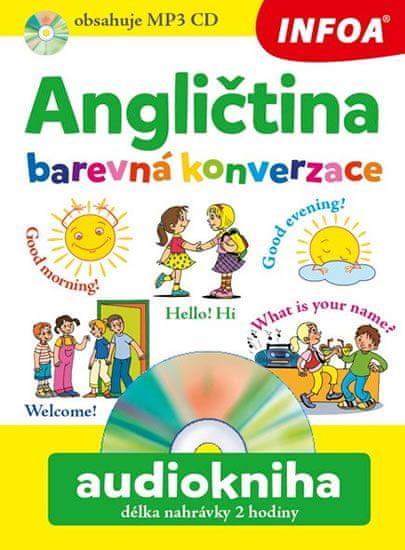 Šamalíková Pavlína: Angličtina barevná konverzace + CDmp3