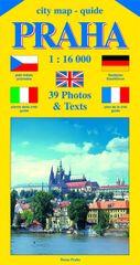 Beneš Jiří: City map - guide PRAHA 1:16 000 (čeština, angličtina, italština, němčina, francozština)