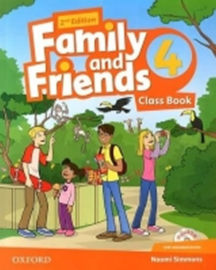 Simmons Naomi: Family and Friends 2nd Edition 4 Course Book with MultiROM Pack