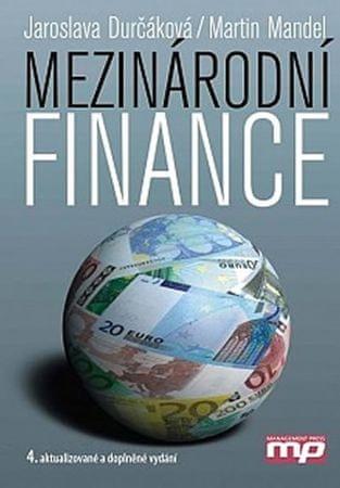 Durčáková Jaroslava, Mandel Martin,: Mezinárodní finance