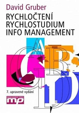 Gruber David: Rychločtení rychlostudium info managemen