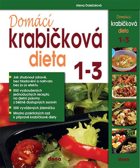 Doležalová Alena: Domácí krabičková dieta 1 - 3 - BOX