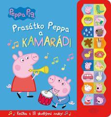 Prasátko Peppa a kamarádi (kniha se zvukem)