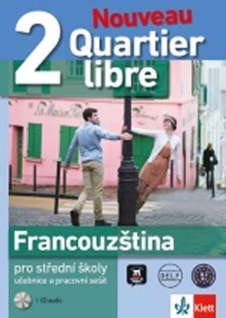 Quartier libre Nouveau 2 – učebnice s pracovním sešitem + 2CD