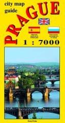 Beneš Jiří: City map - guide PRAGUE 1:7 000