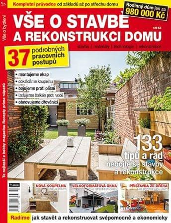 Vše o stavbě a rekonstrukci domu