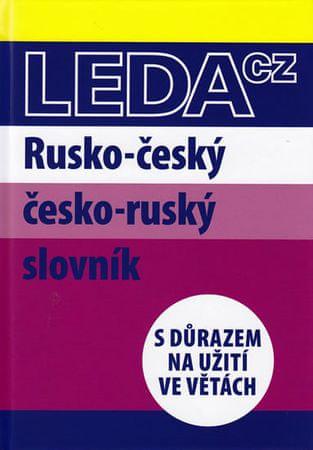 Csiriková M.: Rusko-český a česko-ruský slovník s důrazem na užití ve větách