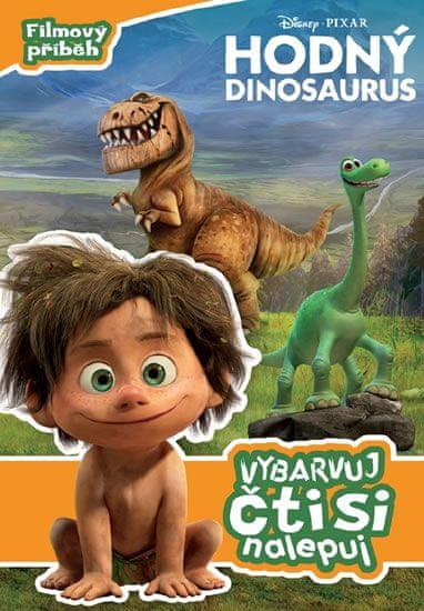 Disney Walt: Hodný dinosaurus - Filmový příběh - Vybarvuj, čti si, nalepuj