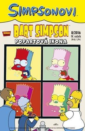 Groening Matt: Simpsonovi - Bart Simpson 8/2016 - Popartová ikona
