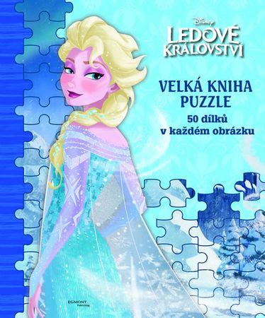 Ledové království - Velká kniha puzzle