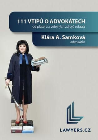 Samková Klára A.: 111 vtipů o advokátech