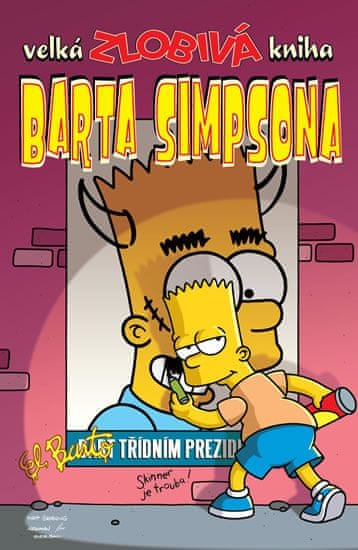 Groening Matt: Simpsonovi - Velká zlobivá kniha Barta Simpsona