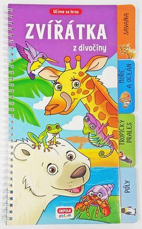 Zvířátka z divočiny - Učíme se hrou