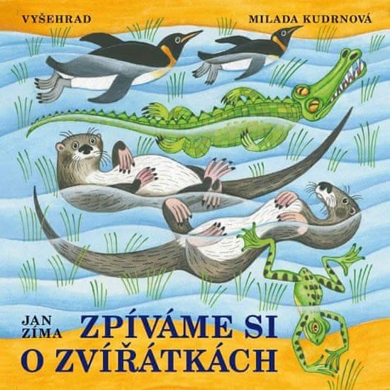 Zíma Ivan: Zpíváme si o zvířátkách + CD