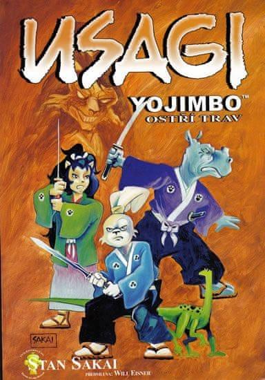 Sakai Stan: Usagi Yojimbo - Ostří trav