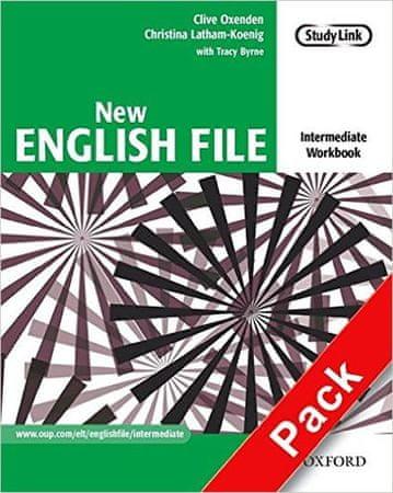 Oxenden Clive, Latham-Koenig Christina,: New English File Intermediate Workbook with MultiRom Pack