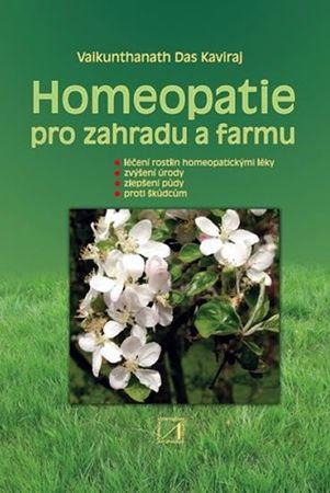 Kaviraj Vaikunthanath Das: Homeopatie pro zahradu a farmu
