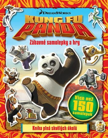 Kung Fu Panda - Zábavné samolepky a hry