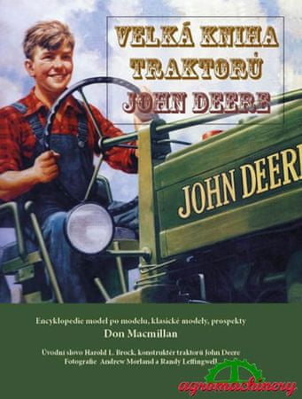 Macmillan Don: Velká kniha traktorů John Deere