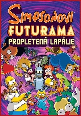 Groening Matt: Simpsonovi FUTURAMA - Propletená lapálie