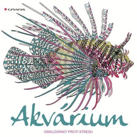 Merritt Richard, Scullyová Claire,: Akvárium - omalovánky proti stresu